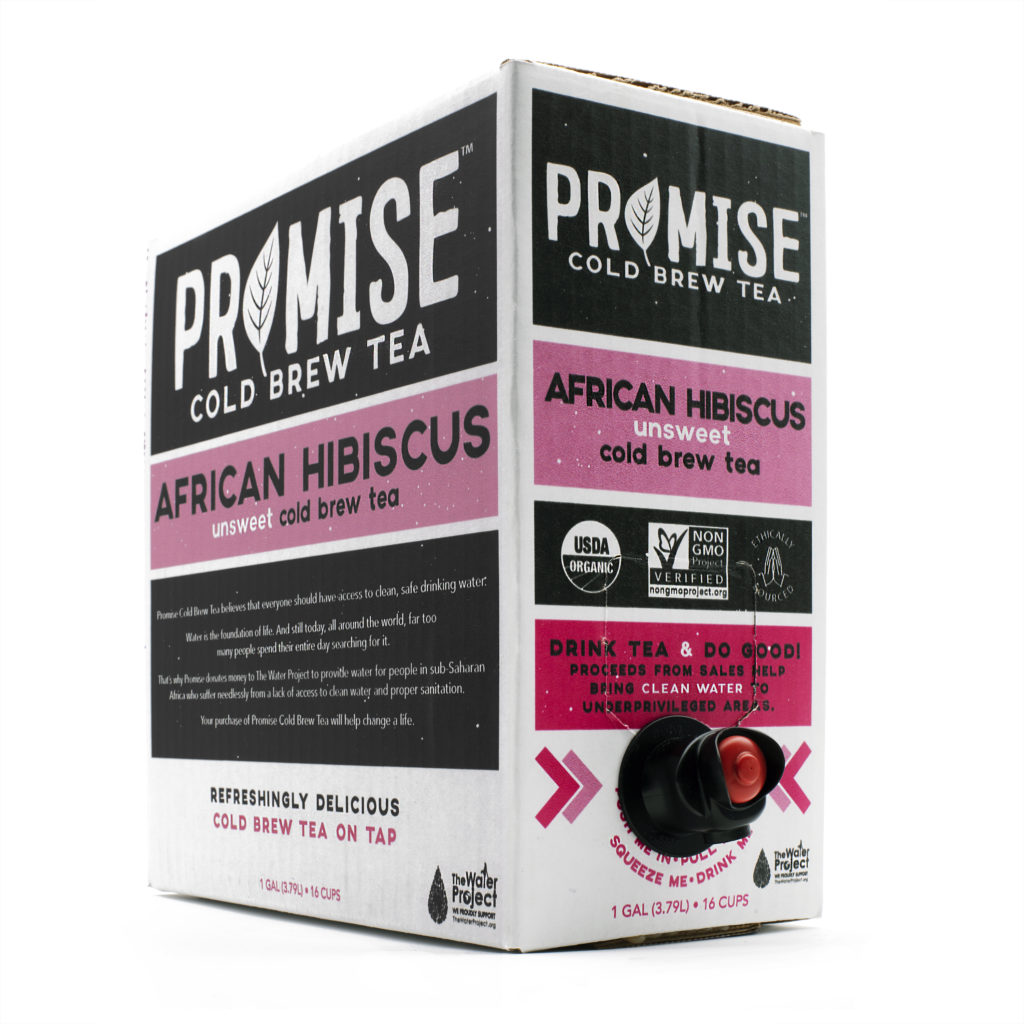 Promise Hibiscus Packaging